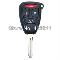 Blank Uncut Blade Remote Key Shell Case For Chrysler Pacifica