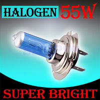 10pcs H7 55W 12V Super Bright   Hight Power White Fog Halogen Bulb Lamp Car Head Light V10