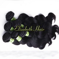 "Unprocessing Body Wave Indian Virgin Remy Hair Mixed Length 4pcs 10""-34"" No Sheds No Tangle Natural Color Free Shipping"
