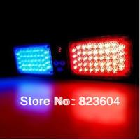 86 LED Super Bright Car Truck Visor Strobe flash light Panel Red&Blue