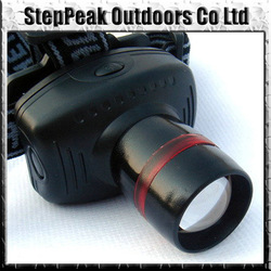 Hard Light Led Headlamp Zoomable 3 Mode Power Outdoor Headlight,Headlight+FreeShipping(China (Mainland))
