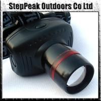 Hard Light Led Headlamp Zoomable 3 Mode Power Outdoor Headlight,Headlight+FreeShipping