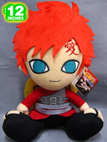 "Free Shipping Japanese Anime Cartoon Naruto Gaara Plush Toy Plush Doll Figure Toy 12"" Chritmas Brithday Gift"