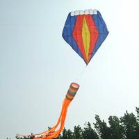 Free shipping Airfoli Kite Stunt kite Software kite 6M Diamond software chinese kite 7-11 delivery