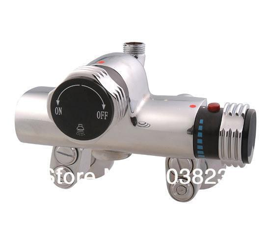 solar heater bathroom water temperature controller thermostatic faucet for spa sauna and geracomium(China (Mainland))
