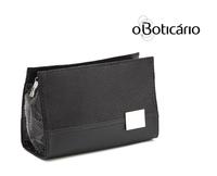 High quality elegant black serpentine pattern PU cosmetic bag storage bag,free shipping