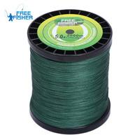 2000m Super fishing Dyneema braid line PE Green 20lb 30lb 40lb 50lb