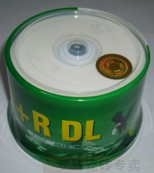 Cd dvd r d9 8.5g 8x dl blank discs 50 bottled