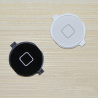 Free shipping For iPhone 4S Black / White Keypad home button 20pcs/lot