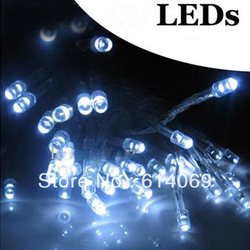 40 LED string MINI FAIRY LIGHTS BATTERY power OPERATED white 3XAA Battery(China (Mainland))