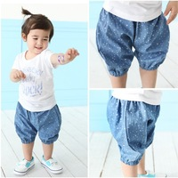 2013 Kids Clothing Set  letters baby girl's Leisure 2pcs set T-shirt+ short pants  Infant Garment Free shipping !
