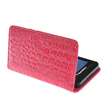 New arrival Crocodile leather case Wallet pouch case cover for Blackberry Z10 - Z10 Leather case - Z10 covers - Free shipping