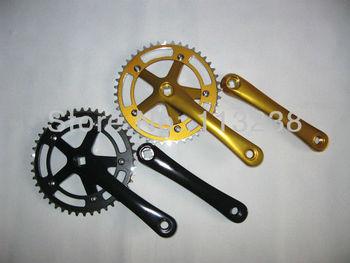 Super Light Al7075 Fixed Gear Bike Chainwheel Cranksets 170*44T Free Shipping