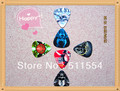 Free Shipping 2013 New Arrival colourful printed celluloid Guitar Picks plektrums in 0.7mm 30pcs/lot