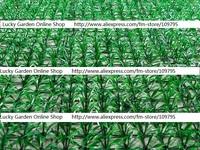 Artificial Plastic Grassy Lawn Green Grass, Home Garden Hotel Decorative Grasses, 25cm x 25cm/pc, 16cs/lot