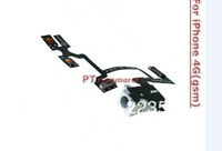 For iPhone 4G Earphone Audio Jack Flex Cable Replacement free shipping