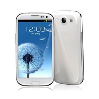 HDC Galaxy S3 Plus - 4.7 Inch Screen 1GHz Dual-core MT6577 8MP Camera Android Phone- WHITE