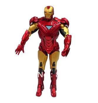 Iron Man Ironman Super Hero Marvel Comic Movie Hero 20cm Action Figure Rare