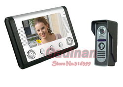 "High Quantity 7"" LCD Wireless Video Door Phone Doorbell Intercom System Night Vision Waterproof Camera(China (Mainland))"
