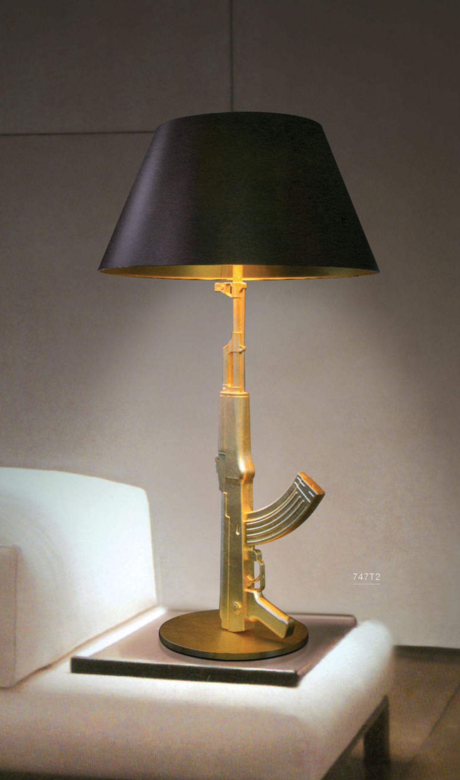 lighting lamps modern living room lamp fols lamp personalized ak47