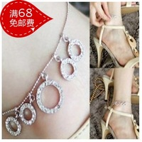 Fashion fashion diamond anklets ring size round anklet popular anklets