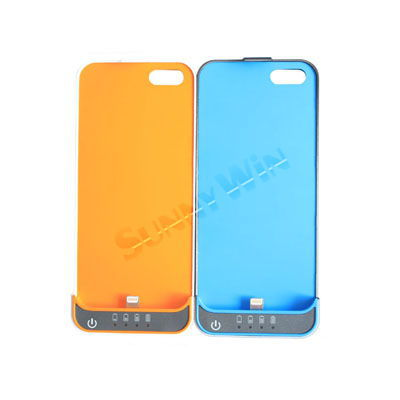 Power Bank 2200mAh External Charger Backup Battery Cover Case Portable power station for iPhone 5 Apple 5 with retail BOX(China (Mainland))