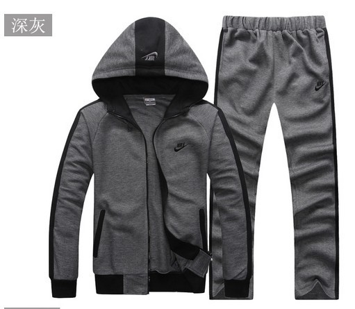 2013 autumn winters thickening keeping warm pure color man sport suit(China (Mainland))