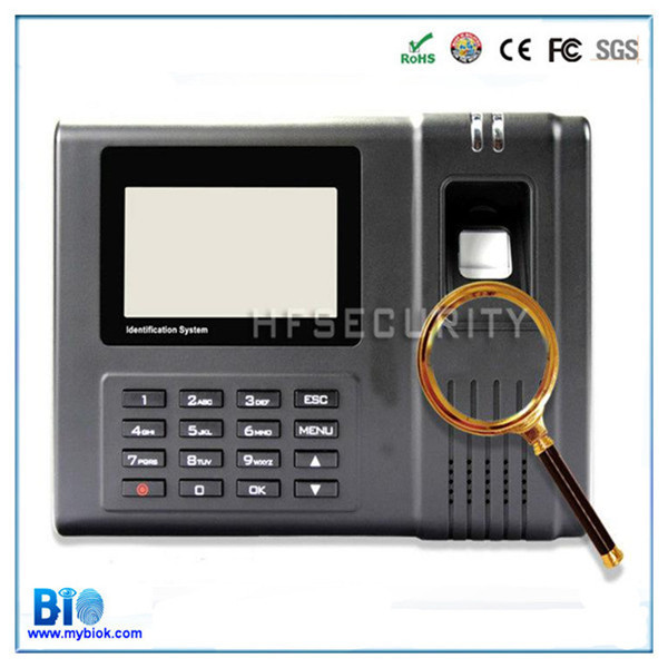 Competitive Price Biometric Fingerprint Scanner Clocking System HF-H6(China (Mainland))