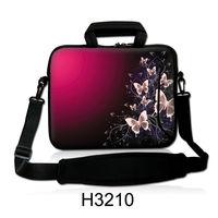 "17.3"" 17.4"" Butterfly Design Shoulder Bag Laptop Notebook Messenger Case Carrying Handle Pouch"