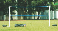 Wholesale&Retail 2013 Hot Sell Inflatable Portable PVC Volleyball Net Post  With ABS Net,4units/ctn