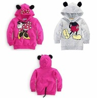 New fashion Minnie hooded casual sweater, spring and autumn long sleeve jacket free shipping