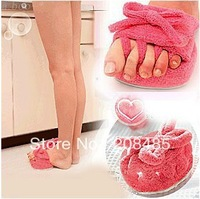At home ladies' slippers toe slimming legs slippers stovepipe shoes indoor slimming slippers