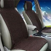 Car wooden bead cushion car summer maple wooden bead seat cushion summer mat massage pad single seat cover