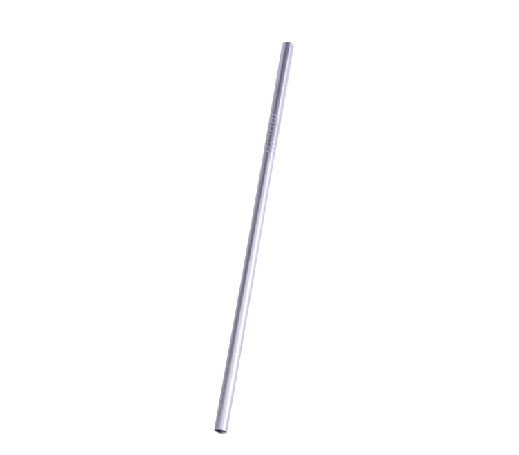 Stainless steel slender straw stainless steel straw stirring rod coffee spoon stirring rod juice straw mixing spoon(China (Mainland))