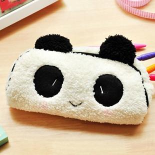A1084 plush tote pencil case plush pencil case cosmetic bag