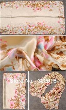 Wholesale Scarf Mix Colors 2013 Fashion NEW Spring Flower Stripe Floral Wraps Women Scarfs Shawl Ladies Scarves Shawls Muffler