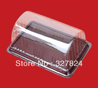 FREE SHIPPING cheap Disposable clear cheese packaging box Plastic cake mousse container box Dessert/Pastry Box 13.3cm*9cm*5.8cm