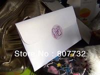22*11.5cm Shiny White 120g Pearl Paper Wedding Envelope, Customized Envelope, Business Envelope, High Quality,Free Shipping