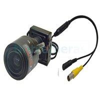 Super Mini 700TVL Sony Super HAD CCD 2.8-12mm Manual IRIS MTV Lens Camera 0.0001Lux D-WDR OSD Menu 3D-DNR Free shipping