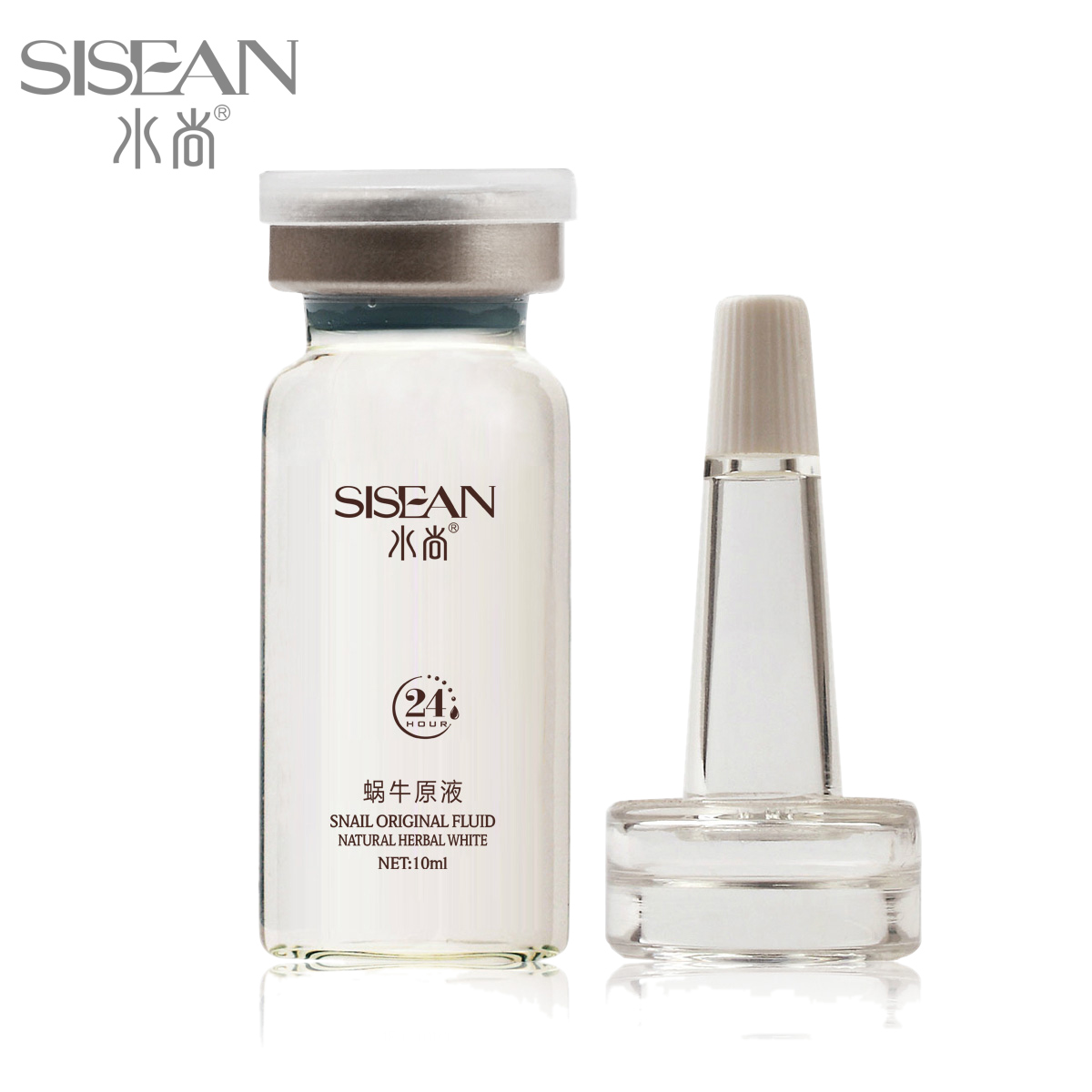 Snail liquid capillarie pores blemish whitening essence product scar moisturizing(China (Mainland))