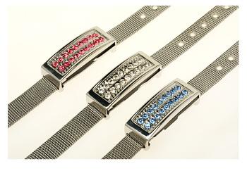 Crystal bracelet usb flash drive  8g