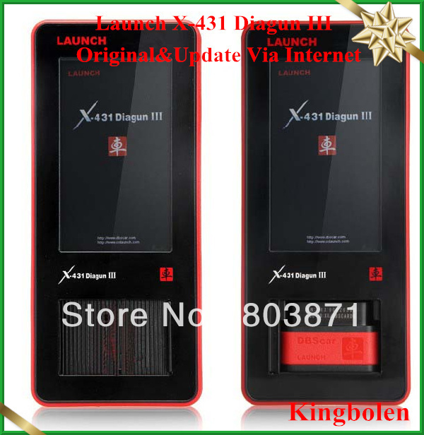 New Product 2013 Latest Version Original Launch X431 diagun iii diagun 3 with online update support more than 70 brands vehicles(China (Mainland))