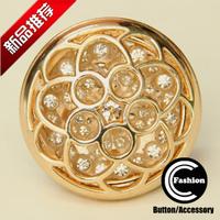 Buttons button quality rhinestone mink diamond big glass diamond 30 38mm