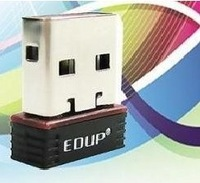 Free Shipping EDUP Mini Wireless N 11n Wi-Fi USB Adapter Dongle for Nano #8508