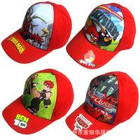 Hotsale muti-colour fashion Children's sun hat cartoon cool boy's hat ,children's topee,kids hat,Free shipping
