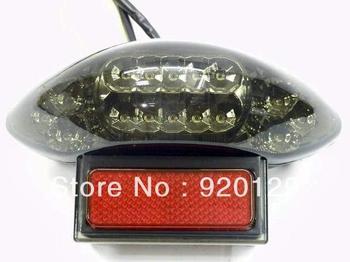 LED Tail Light Turn Signal for 1997-2007 Suzuki Hayabusa GSXR1300 w / DOT Free Shipping