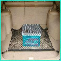 Universal Rear Trunk Black Elastic Mesh Cargo Net 4 Hook Fit For 2007-2012 Honda CRV CR-V