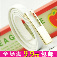 Free shipping The stylish thin section belt