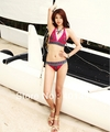 2013 new`s women the bathing suits retro style swimsuits Printing Bikini In the wholesale and retail with 50pcs/L