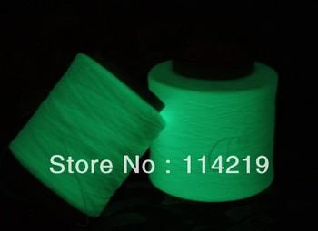 PP Photoluminescent Yarn/36F 3kg Per Cone Glow In The Dark, Luminous  Polypropylene Filament Yarn For Knitting